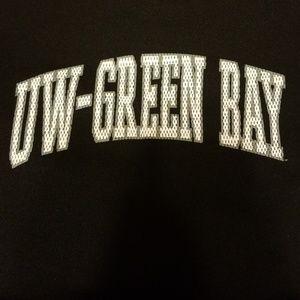 J. America Sportswear Tops - UWGB Hoodie